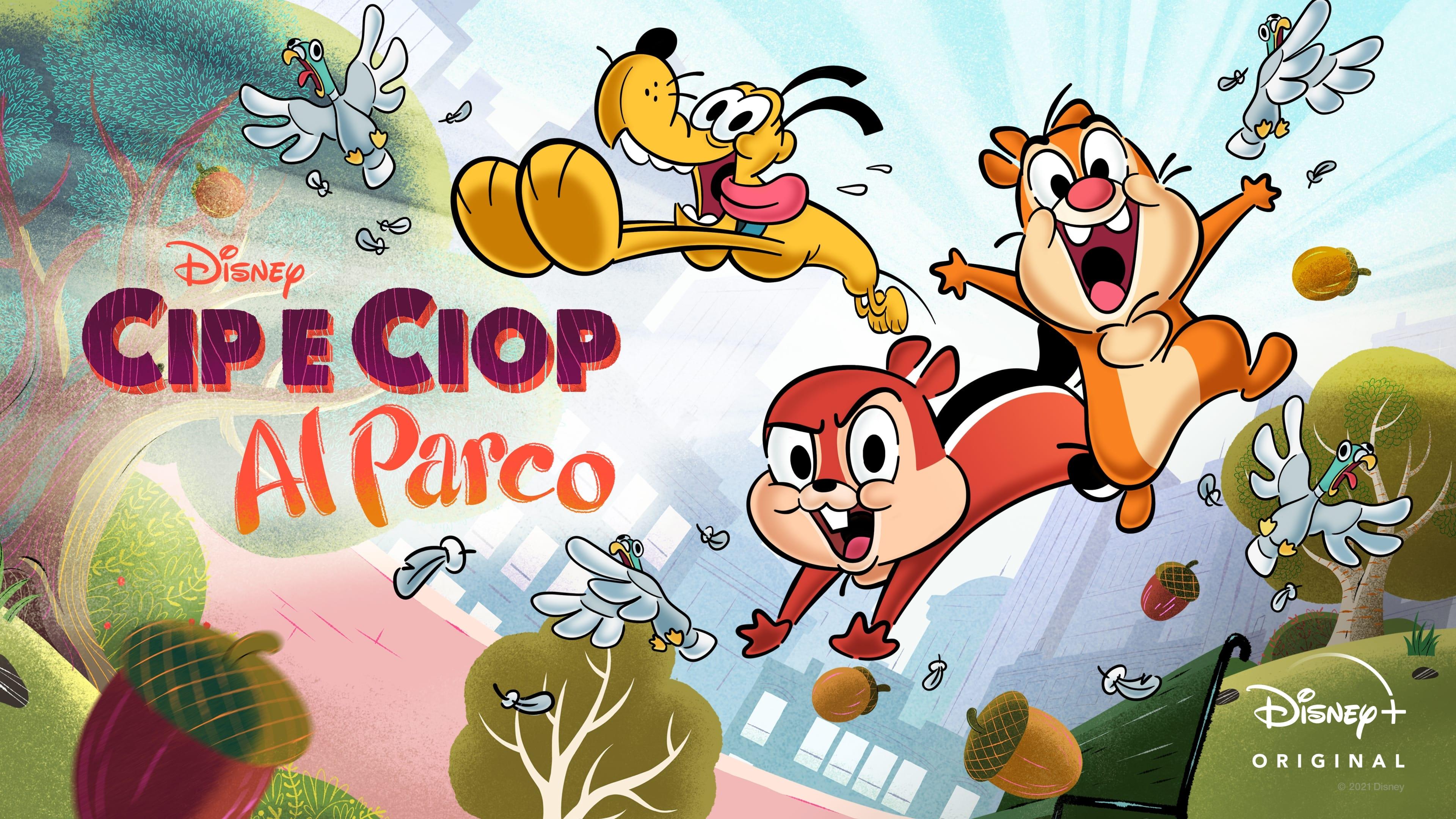 Chip y Chop: vida en el parque