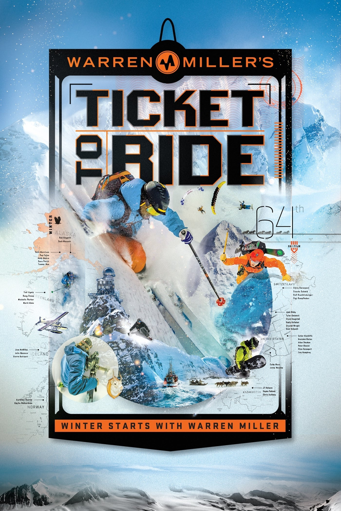Warren Miller: Ticket to Ride on FREECABLE TV