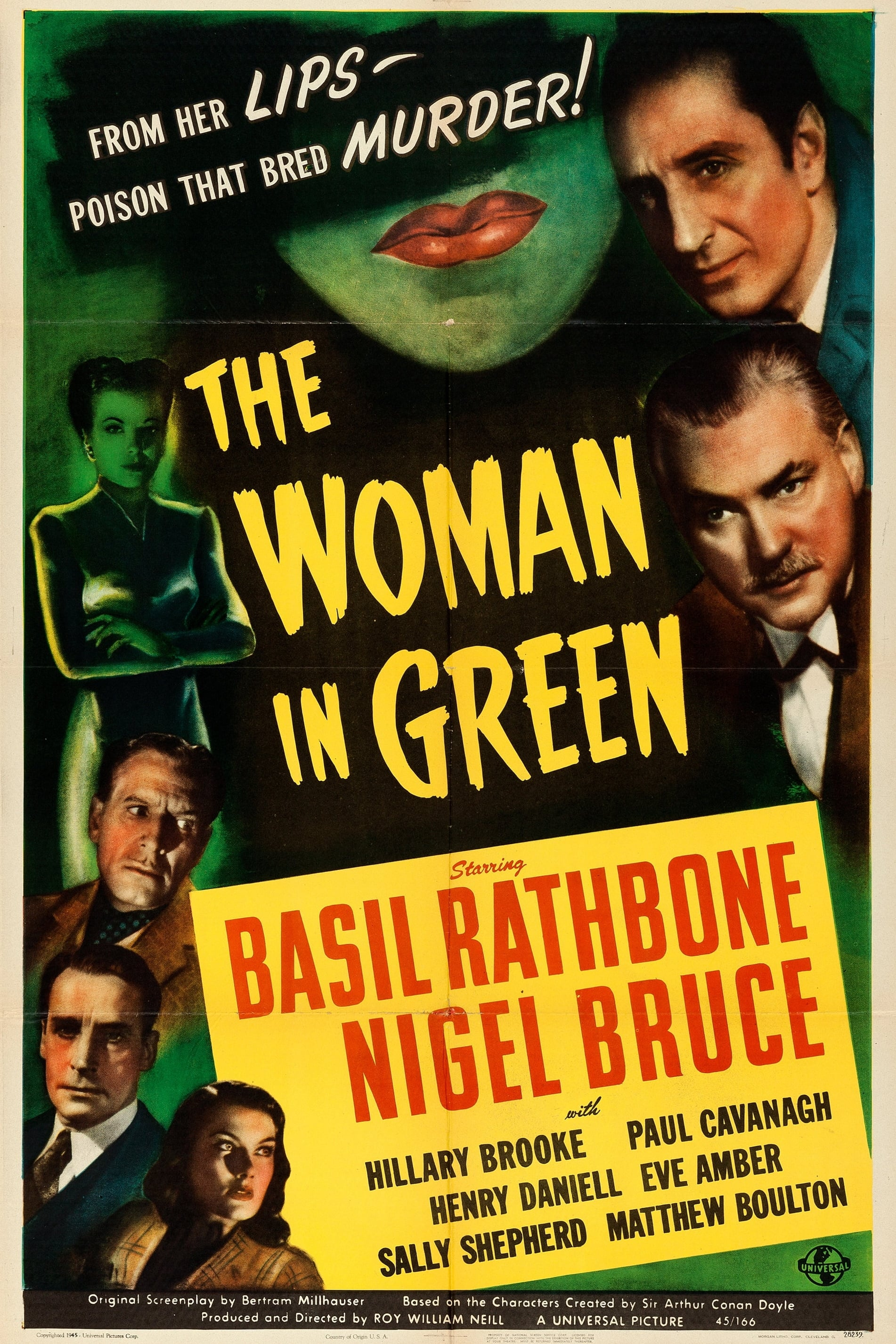 The Woman in Green on FREECABLE TV