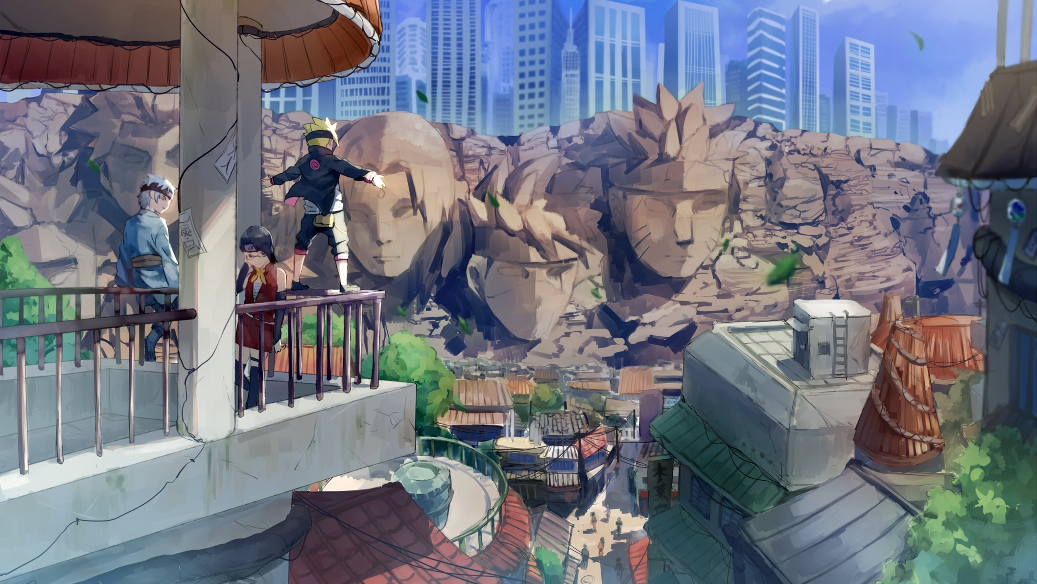 Boruto: Naruto Next Generations backdrop