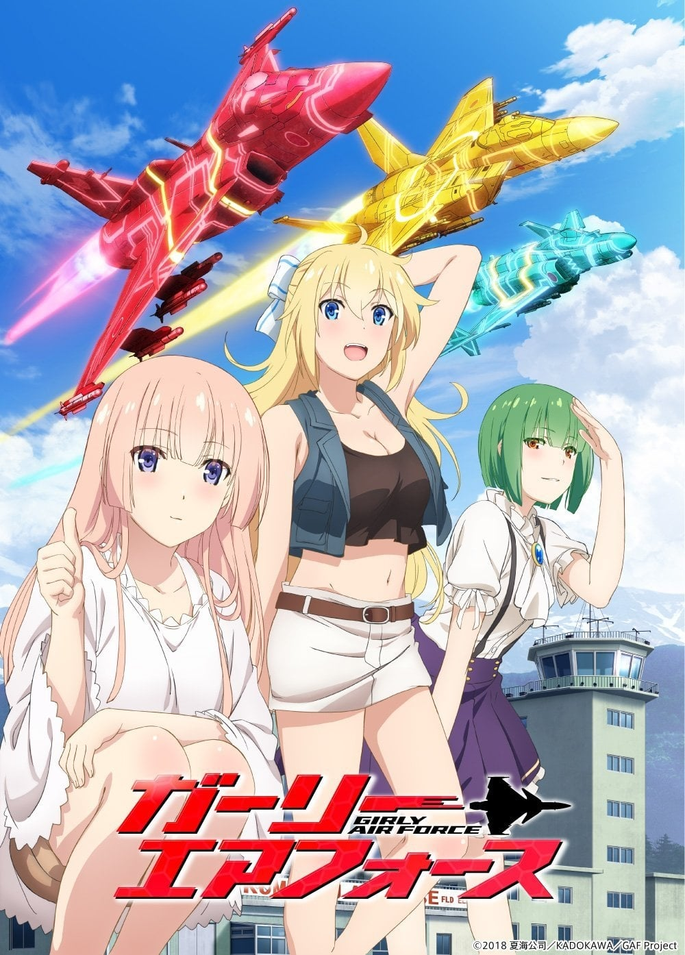 Girly Air Force Episodios Completos Descarga Sub Español