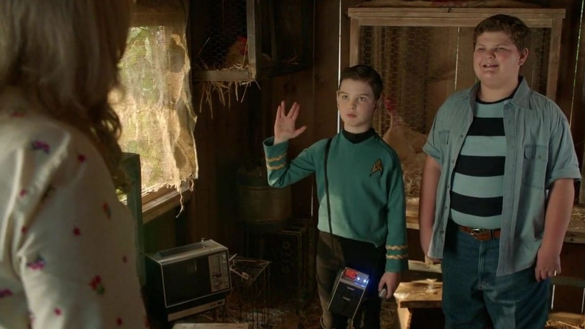 Young Sheldon - Season 3 Episode 9 : A Party Invitation, Football Grapes And An Earth Chicken