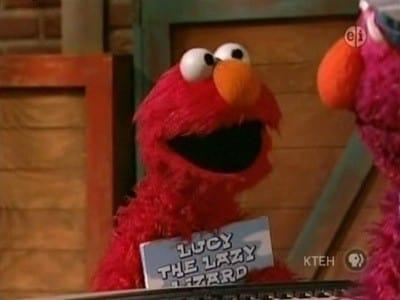 Sesame Street Season 38 :Episode 4  Lucy the Lazy Lizard