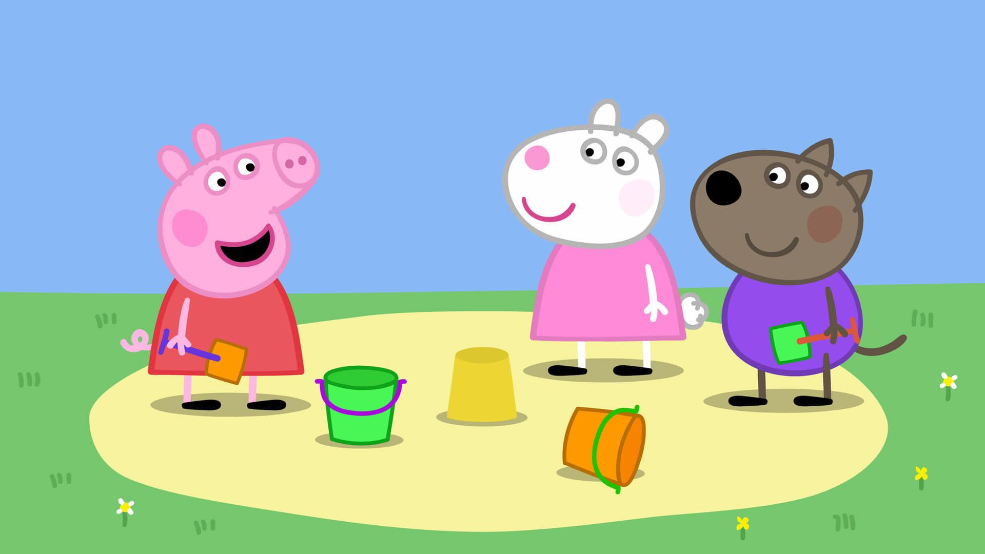 Peppa Pig Season 4 :Episode 34  The Sandpit
