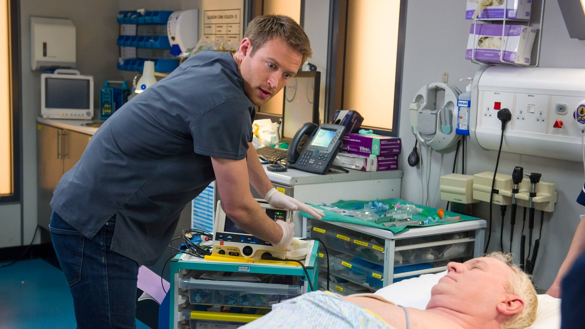 Casualty Season 30 :Episode 2  A Child's Heart, Part Two