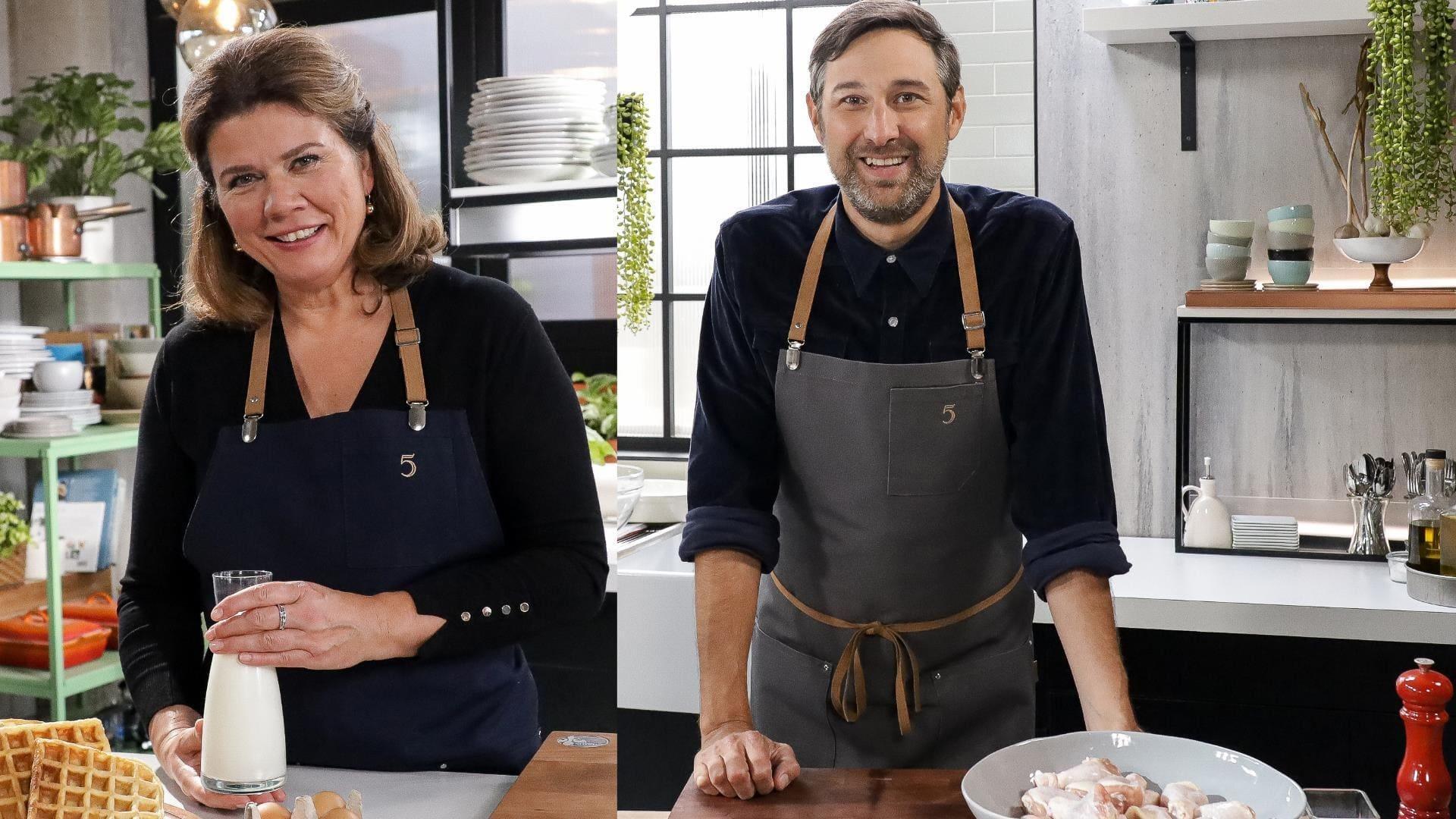 5 chefs dans ma cuisine Season 1 :Episode 17  Episode 17