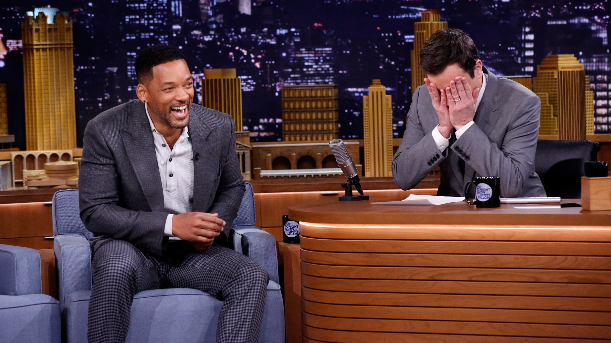 The Tonight Show Starring Jimmy Fallon Season 1 :Episode 1  Will Smith, U2