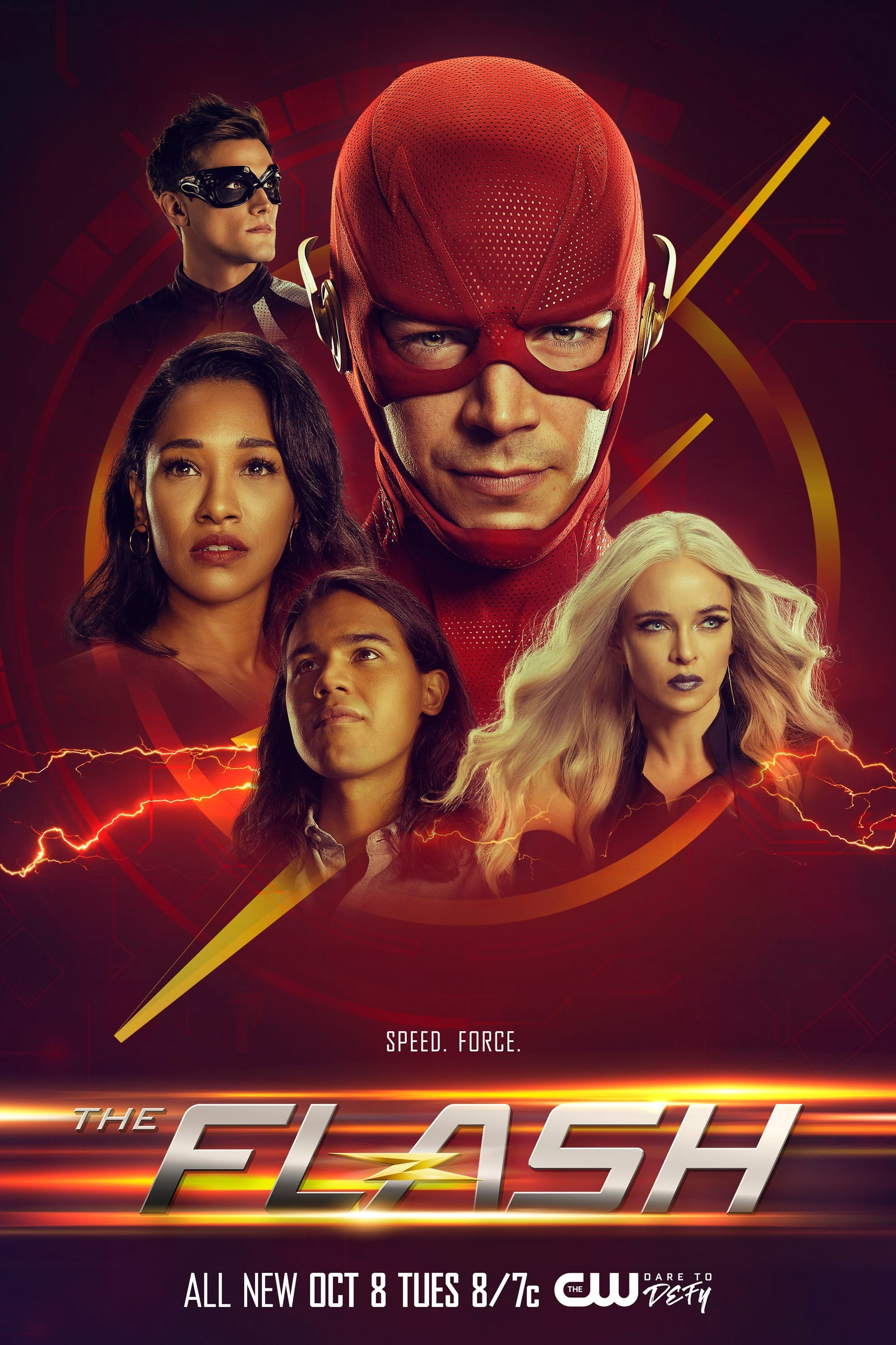 The Flash 6ª Temporada poster, capa, cartaz