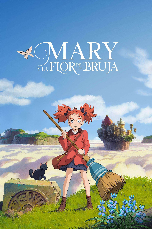 Póster Mary y la flor de la Bruja