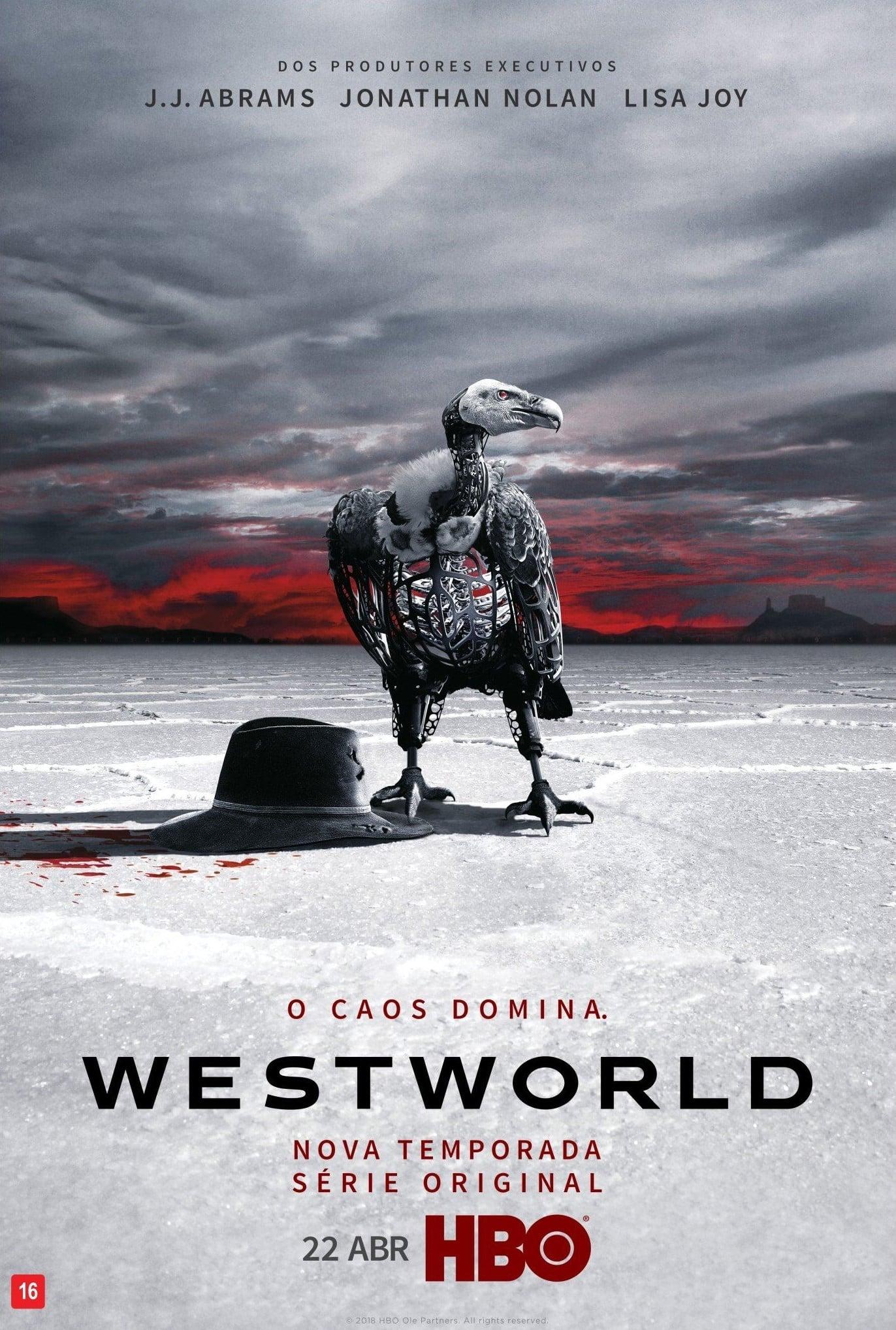 Westworld 2ª Temporada poster, capa, cartaz