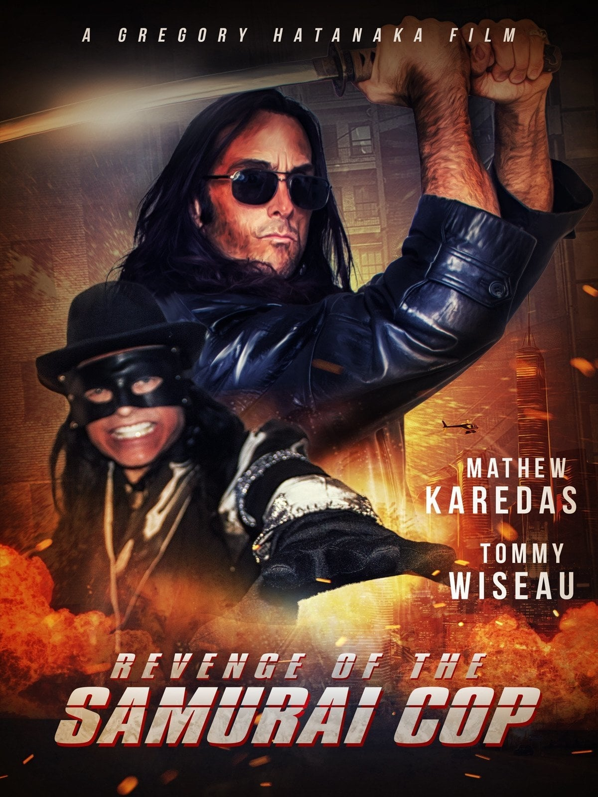 Ver Revenge of the Samurai Cop Online HD Español ()