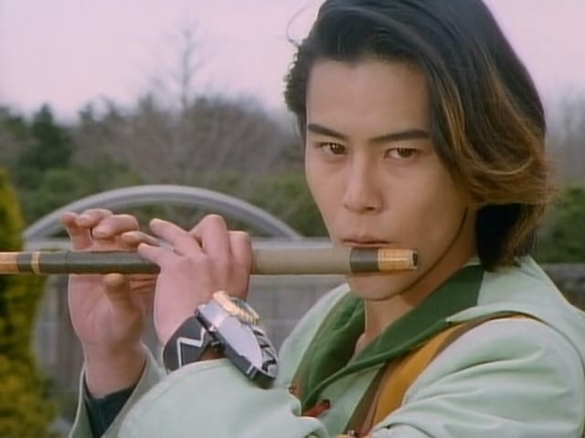 Super Sentai Season 22 :Episode 10  Flute Of The Wind