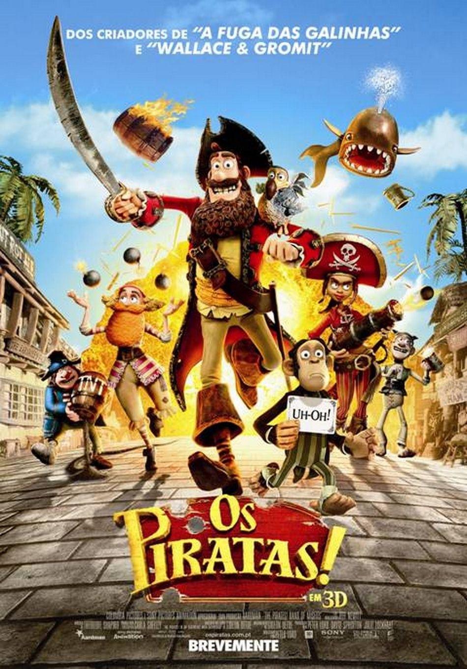 Piratas Pirados! Dublado