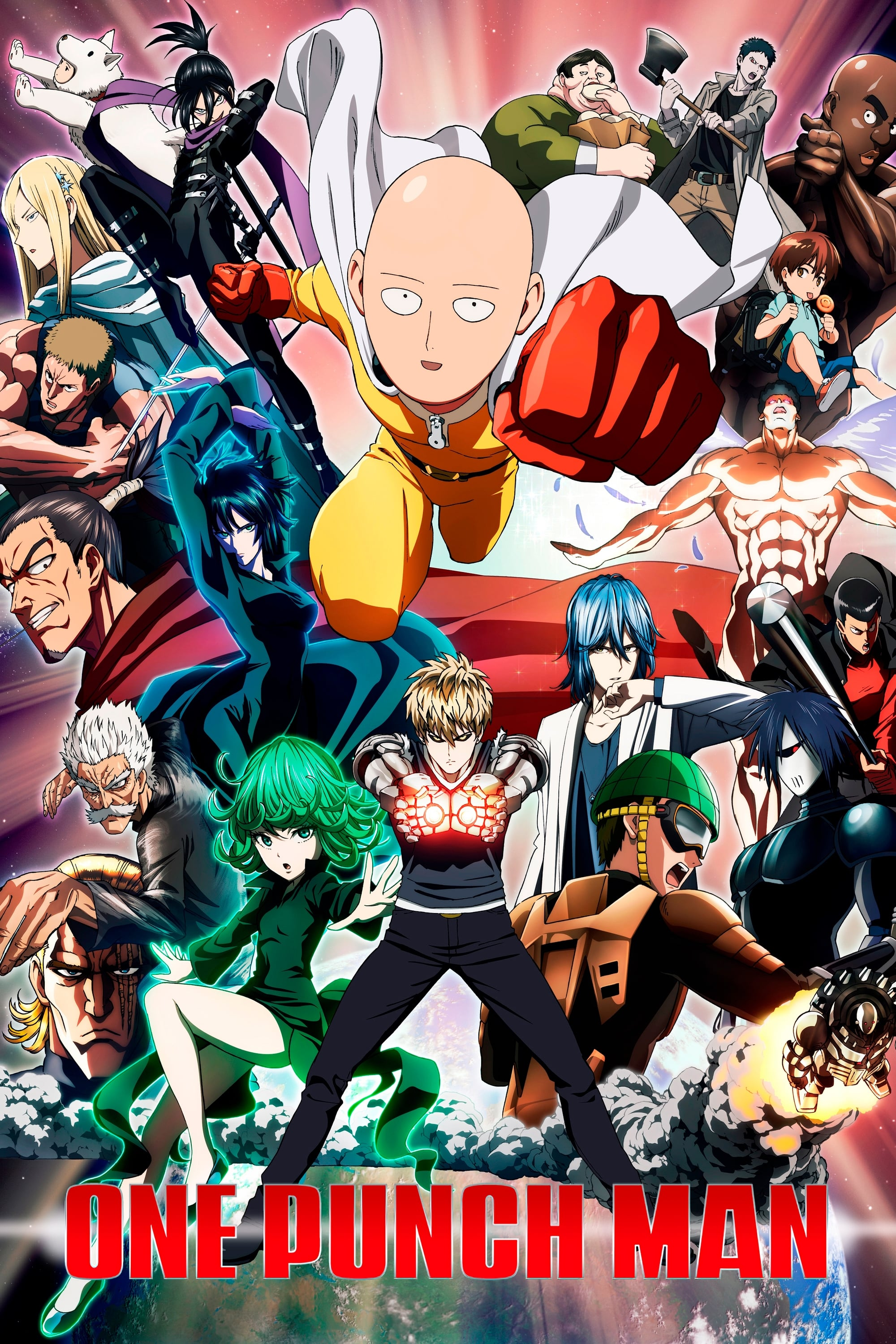 One Punch Man Poster