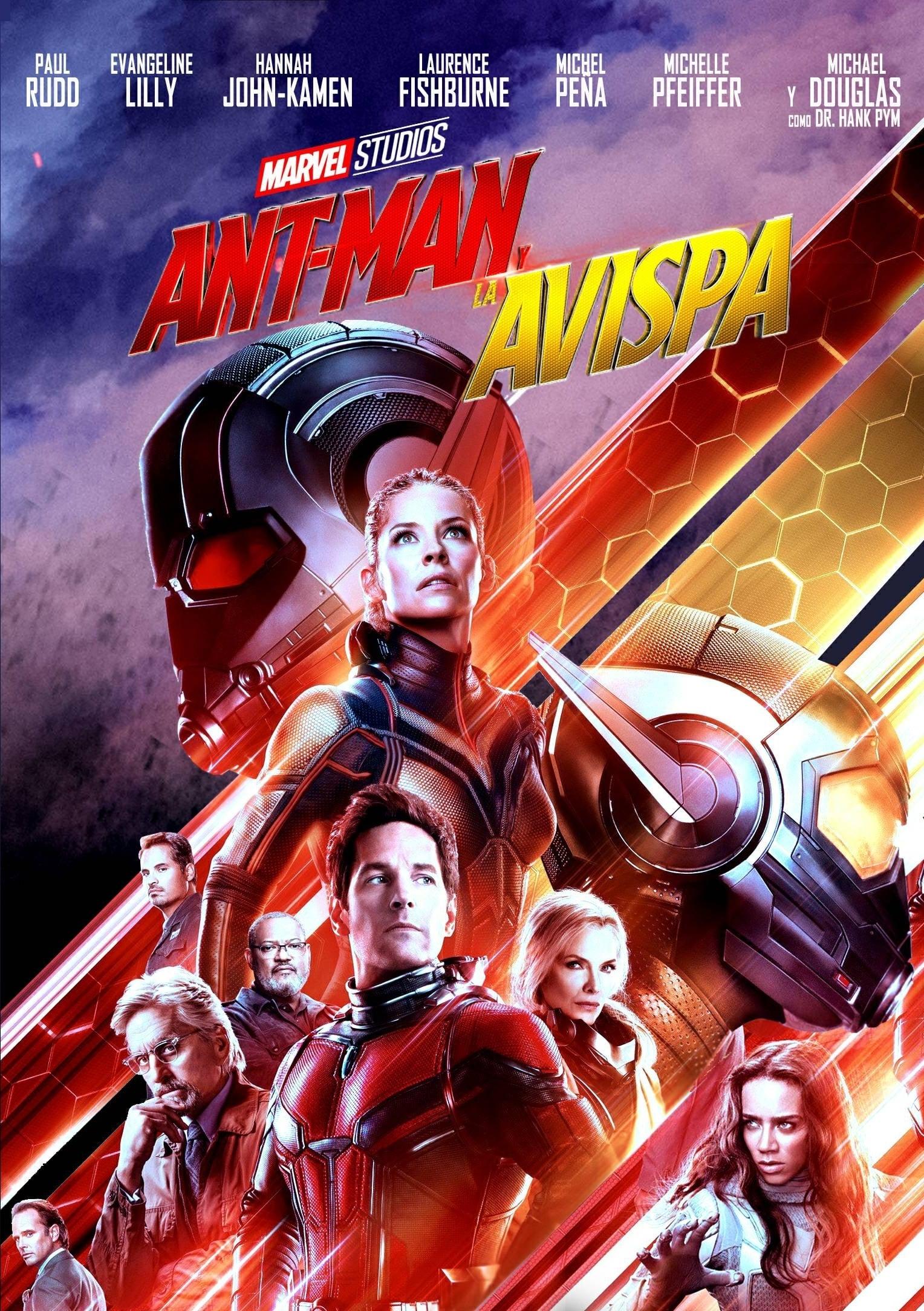 Póster Ant-Man y la Avispa