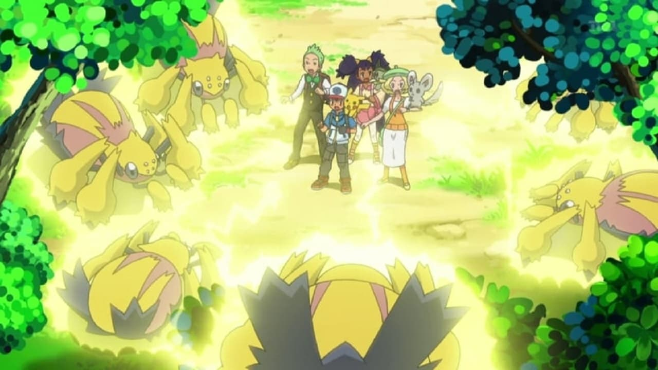 Pokémon Season 15 :Episode 14  Crisis at Chargestone Cave!