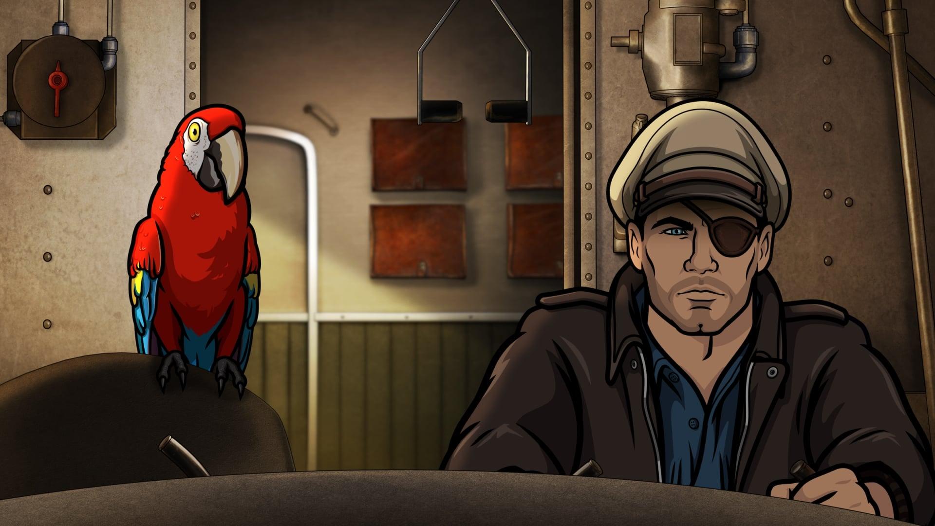 Archer Season 9 :Episode 1  Strange Pilot
