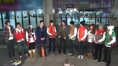 Running Man Season 1 :Episode 22  Christmas Special