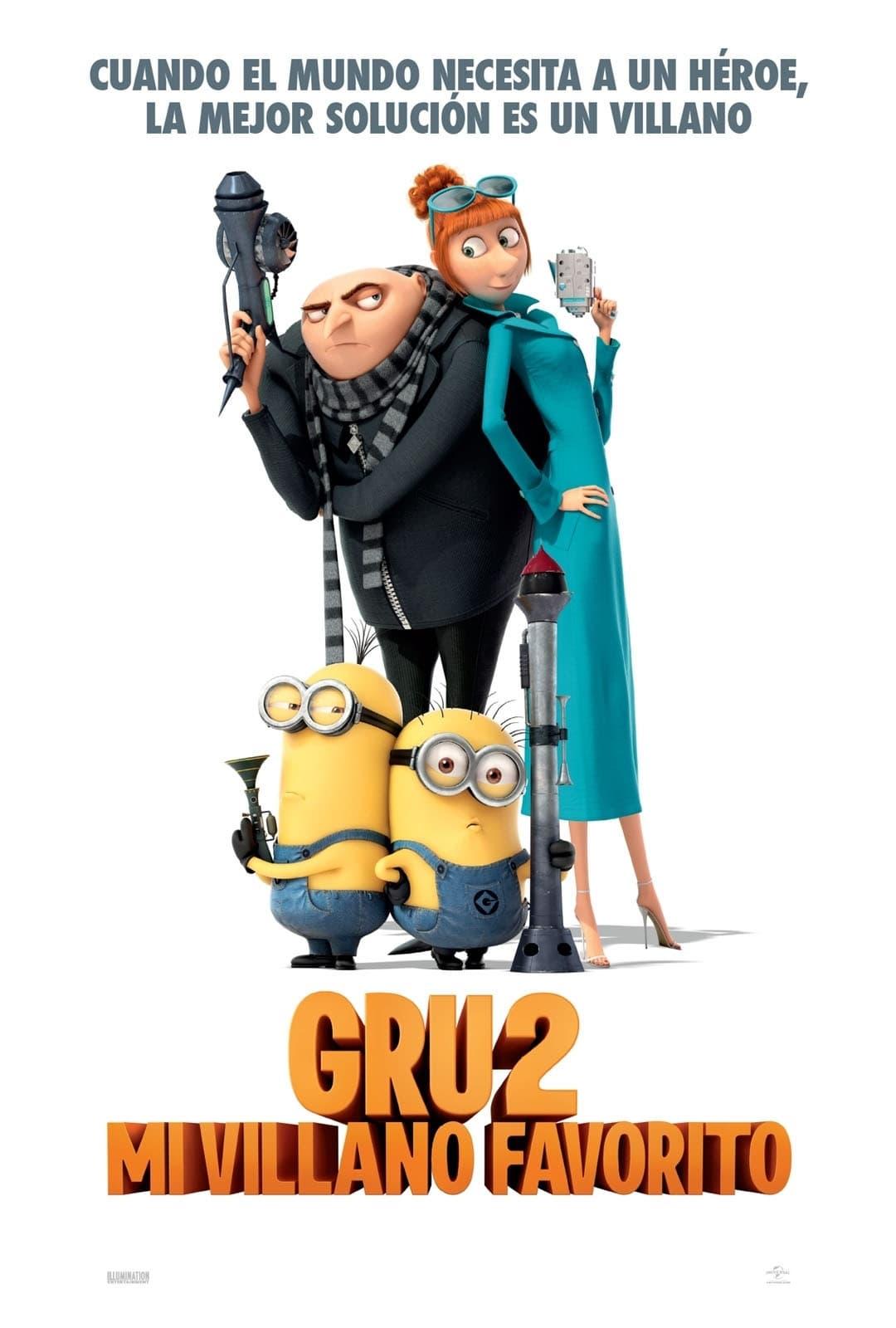 Gru 2 Mi villano favorito (2013)