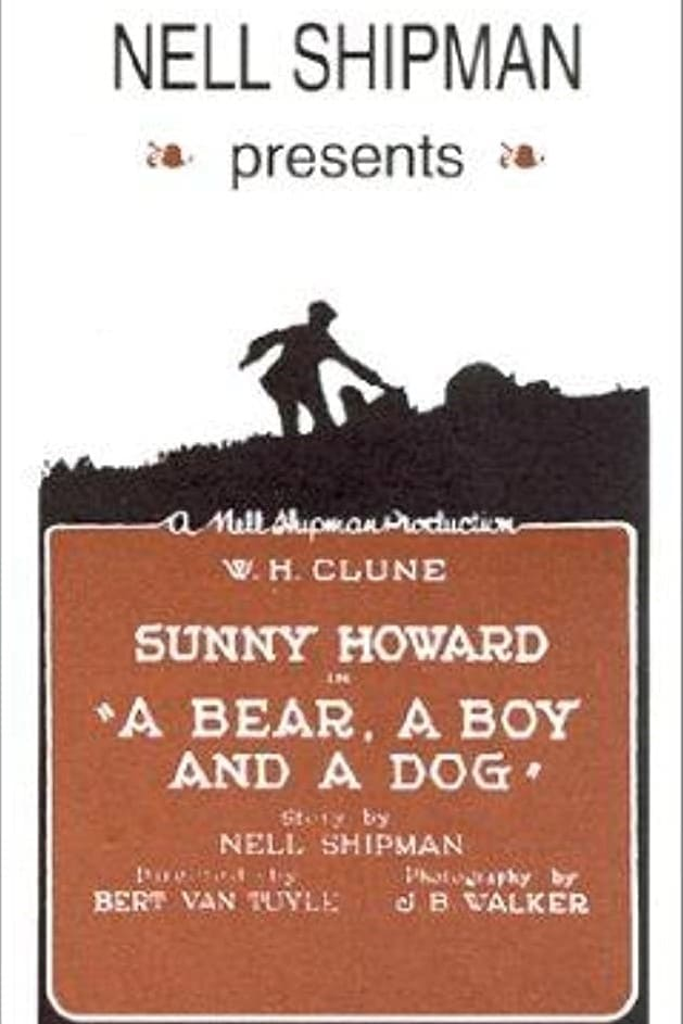 A Bear, a Boy and a Dog (1921)