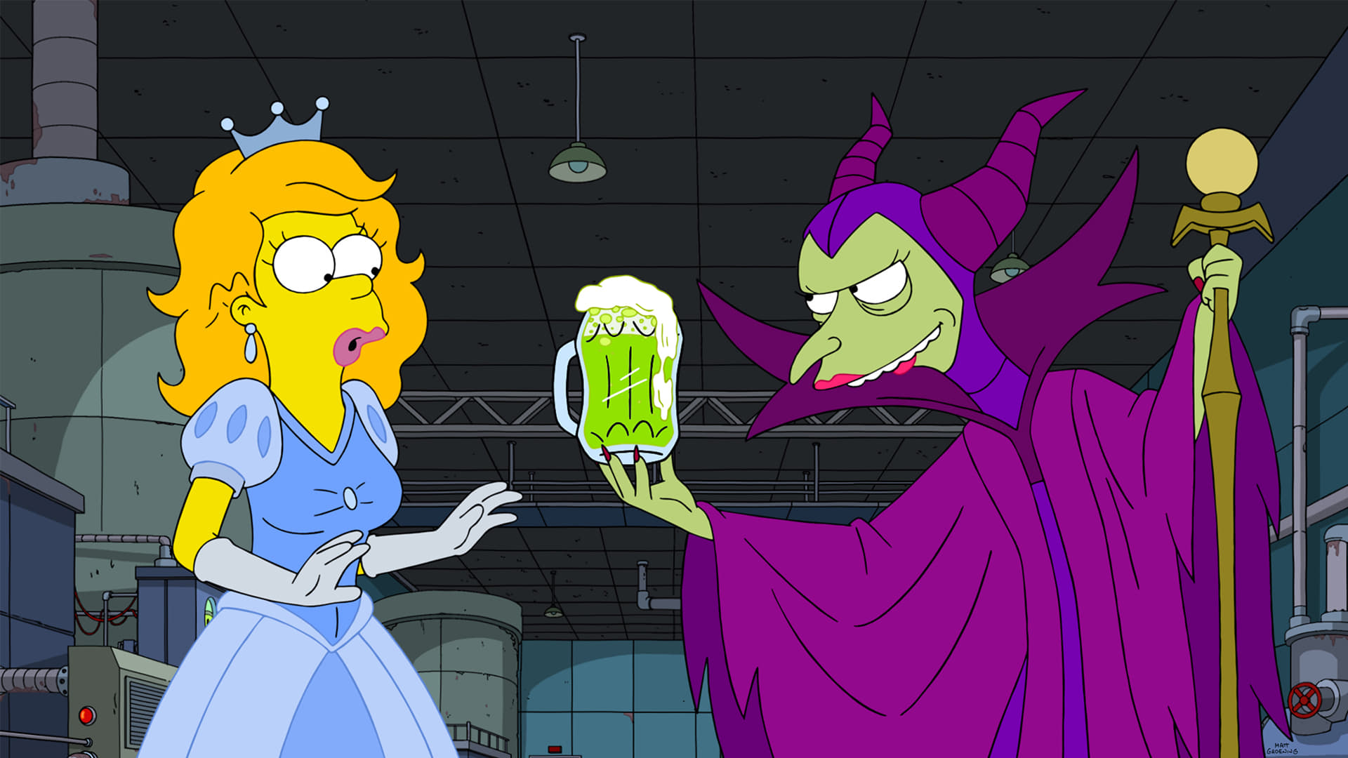 The Simpsons Season 32 :Episode 4  Treehouse of Horror XXXI