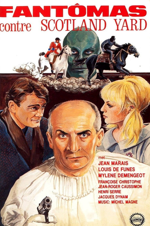 Ver Fantomas contra Scotland Yard Online HD Español (1967)