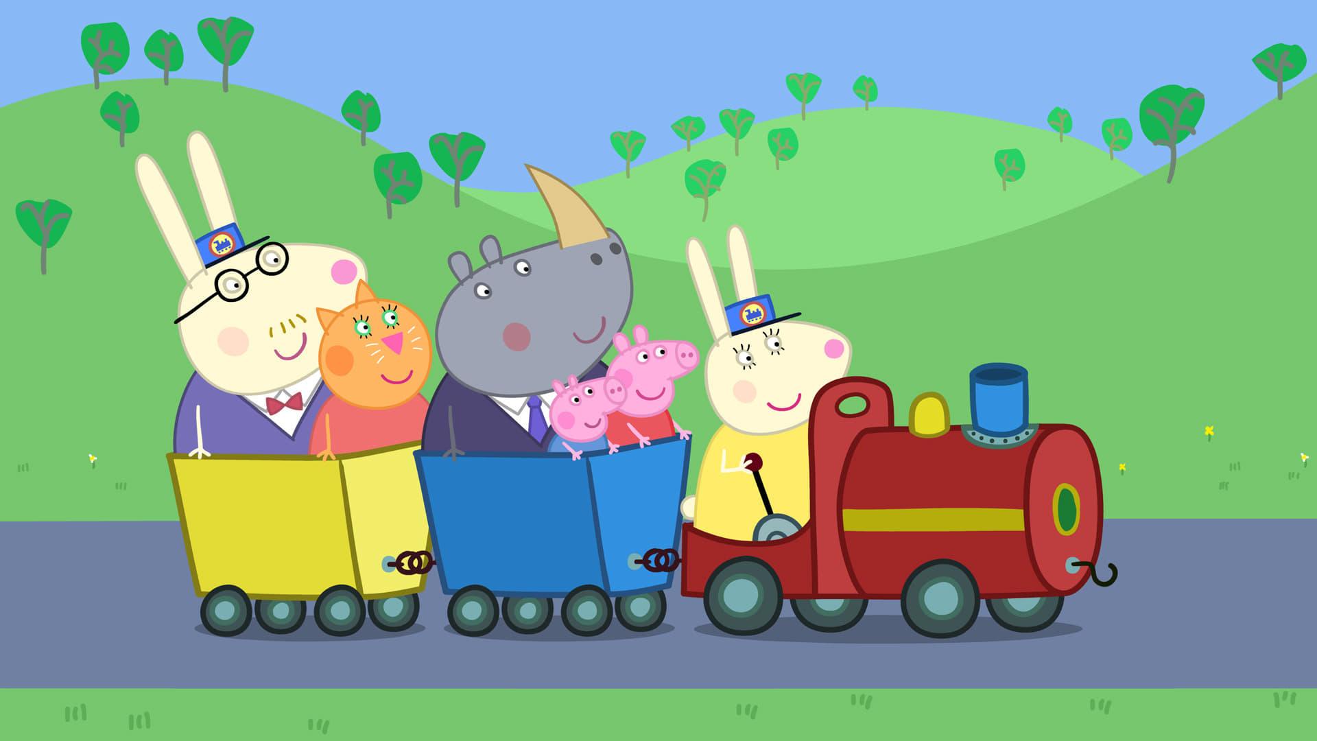 Peppa Pig Season 4 :Episode 20  Grandpa Pig's Train to the Rescue