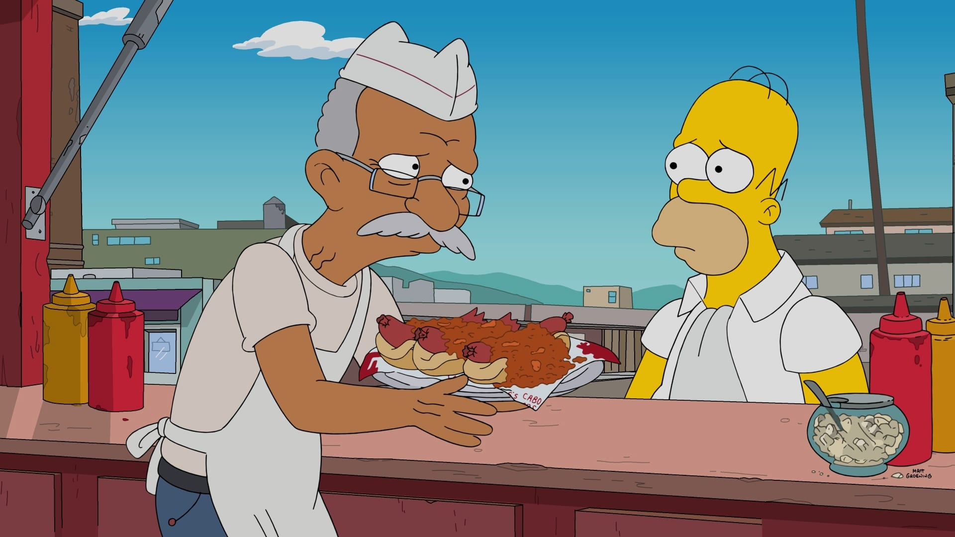 The Simpsons Season 28 :Episode 14  Fatzcarraldo