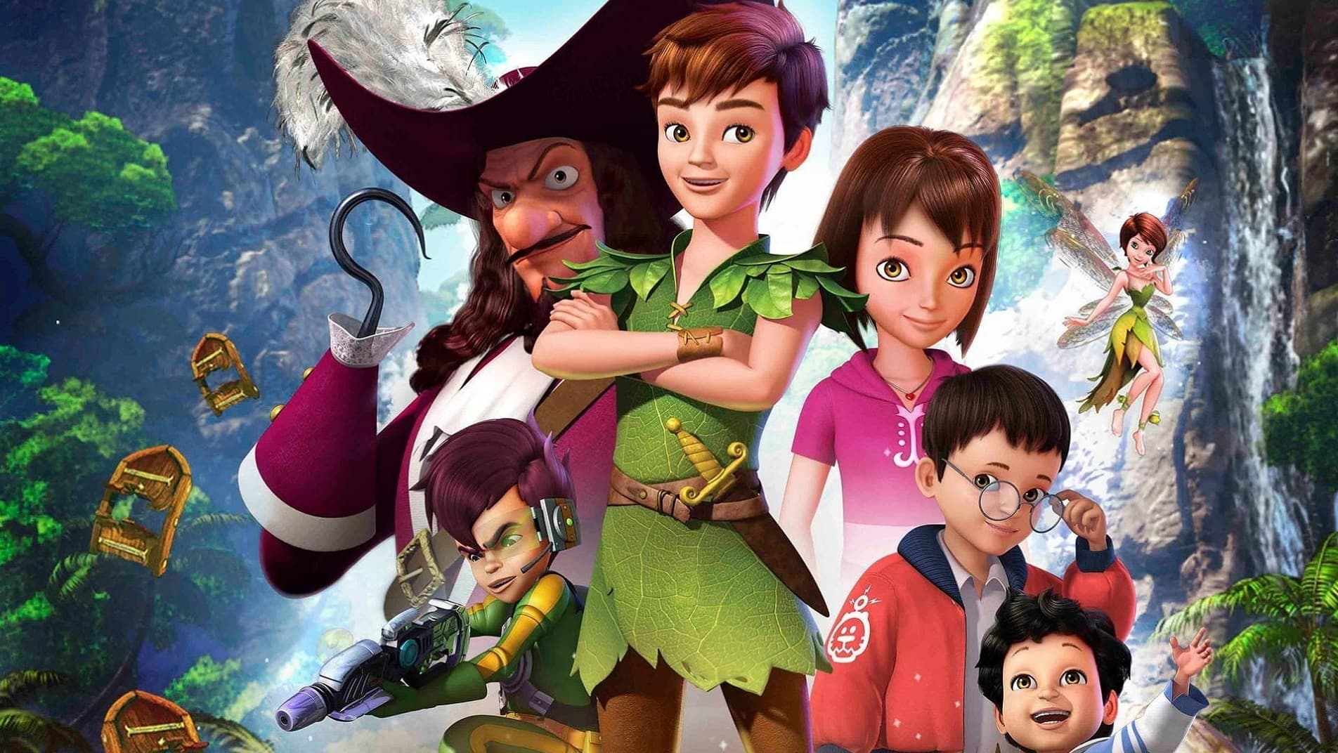 Peter Pan: La búsqueda del libro de Nunca Jamás