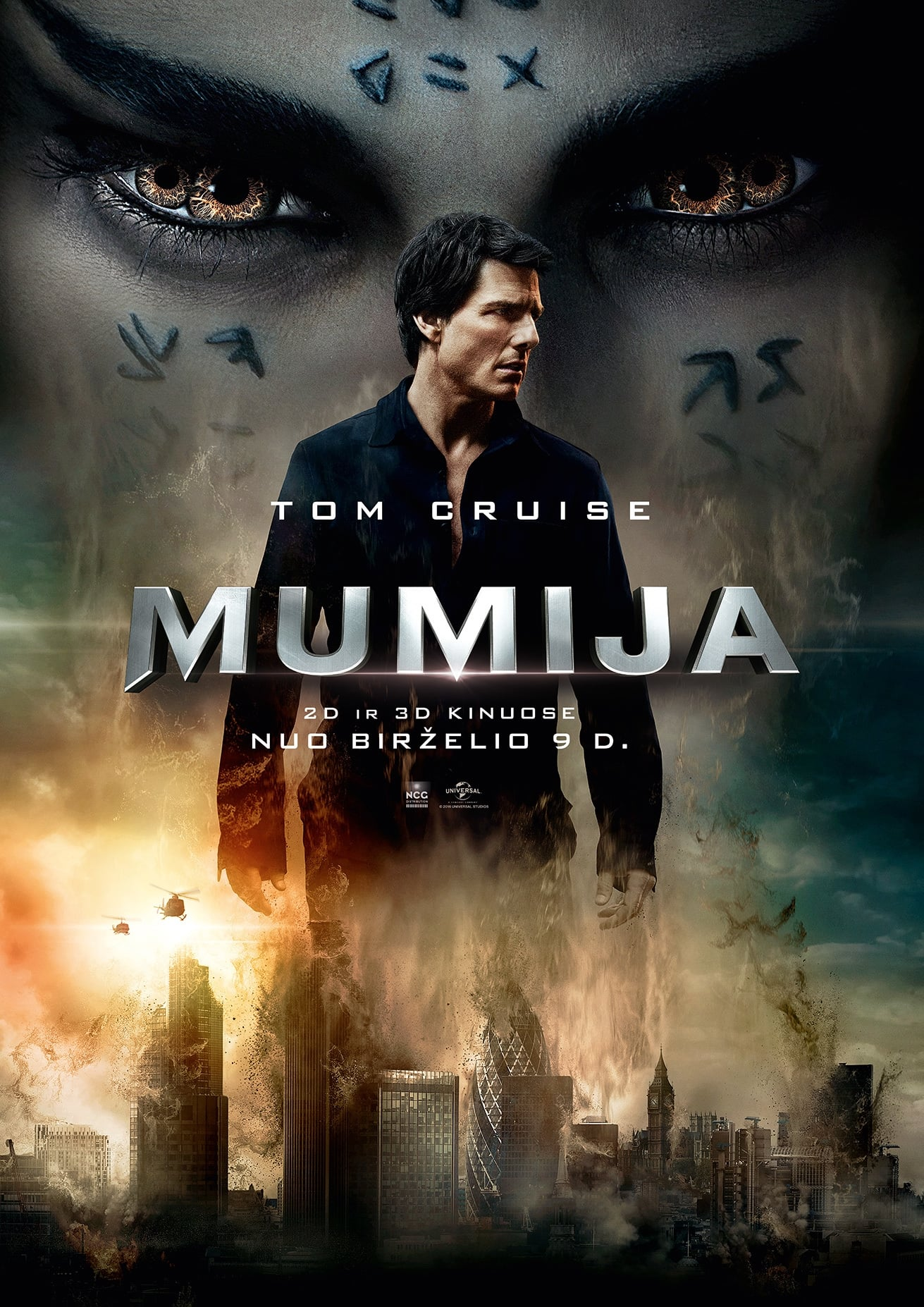 Mumija / The Mummy (2017)