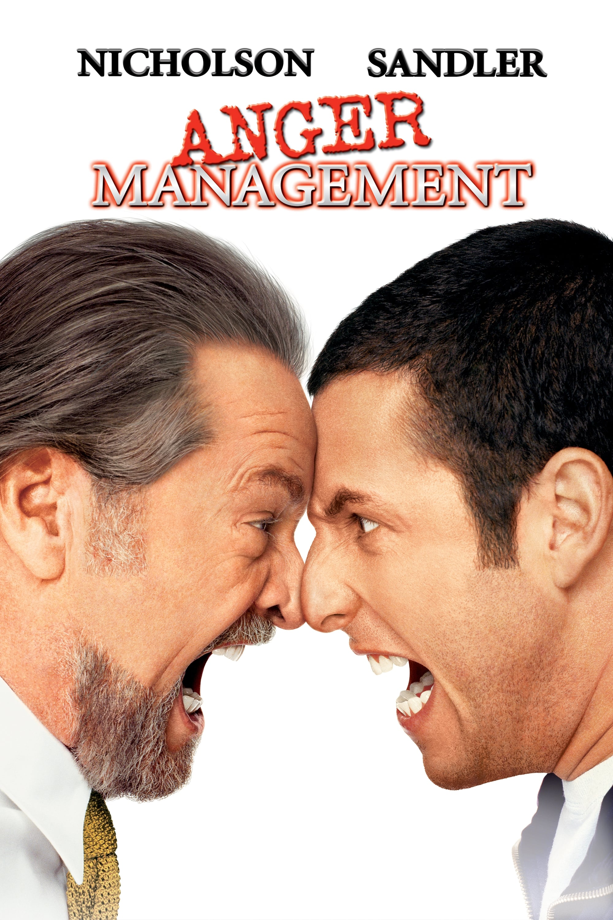 Anger Management 2003 Posters The Movie Database Tmdb