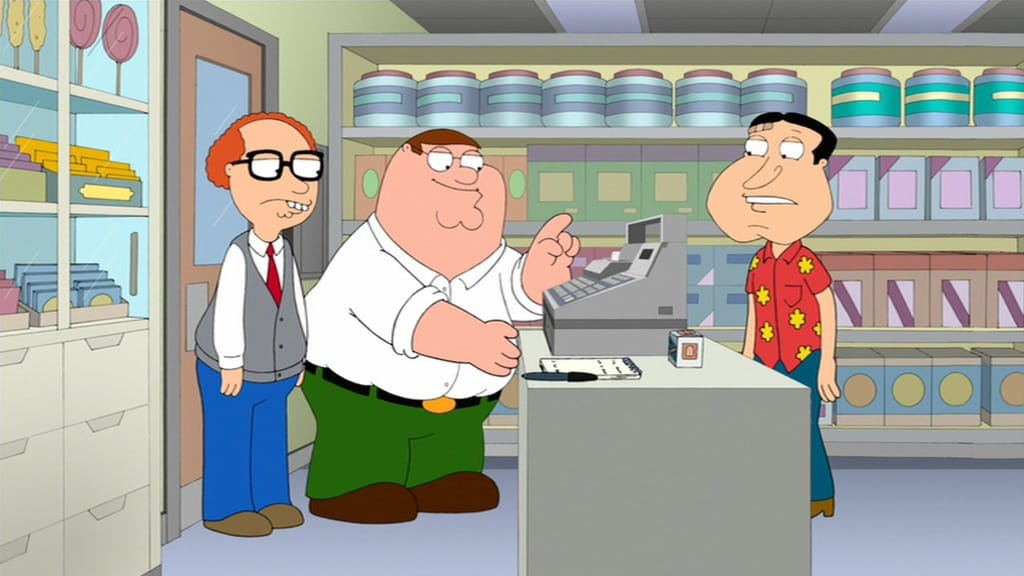Family Guy Season 10 :Episode 15  Burning Down the Bayit