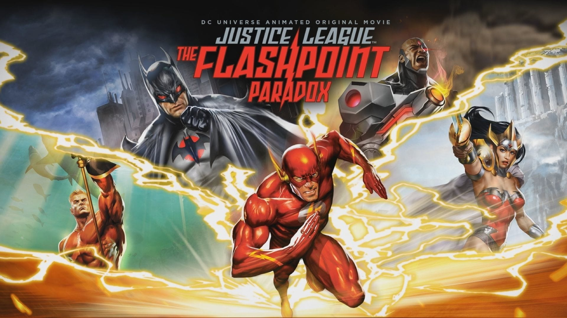 Flashpoint Paradox German