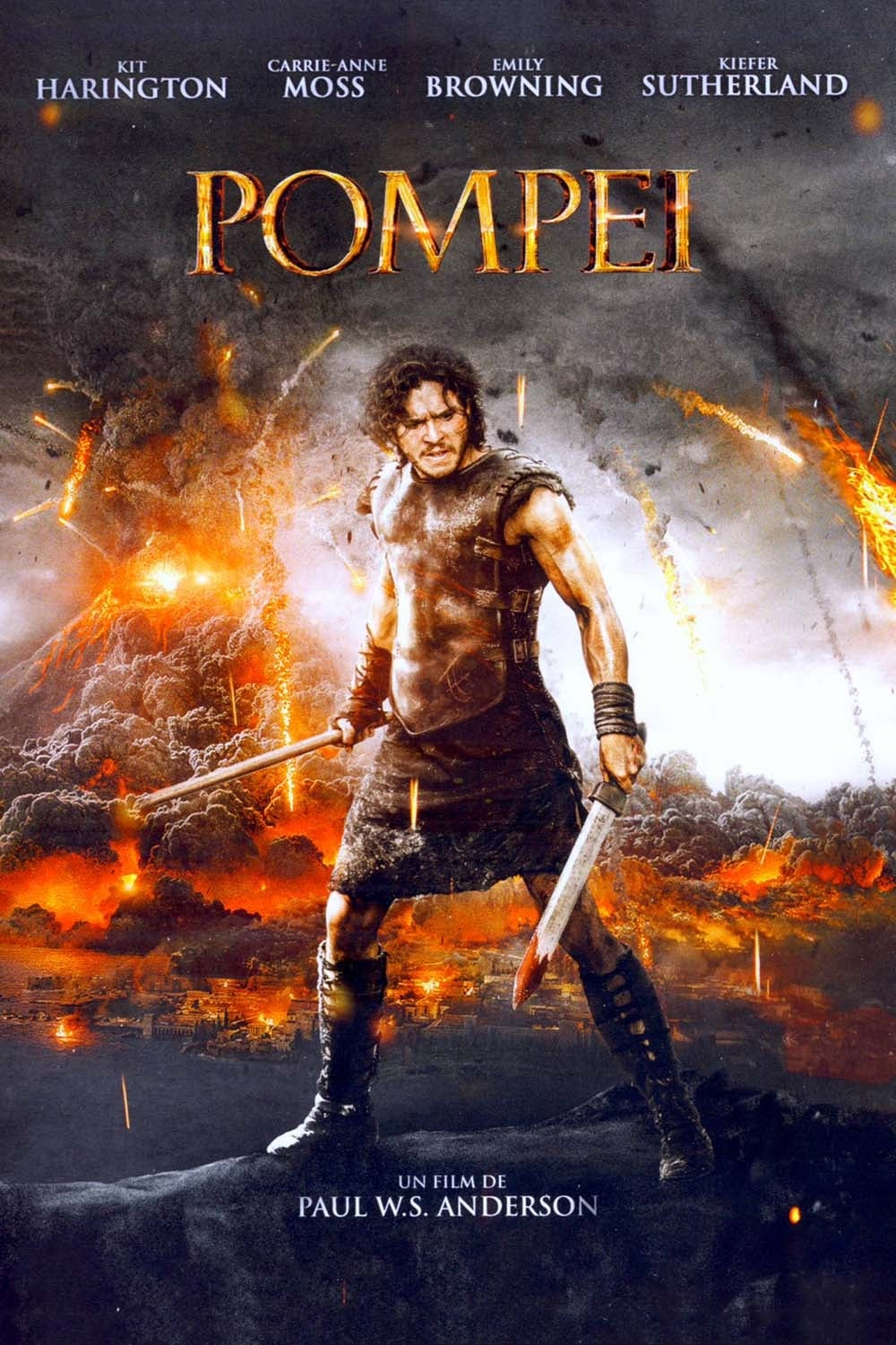 Pompeii (2014) - Posters — The Movie Database (TMDb)