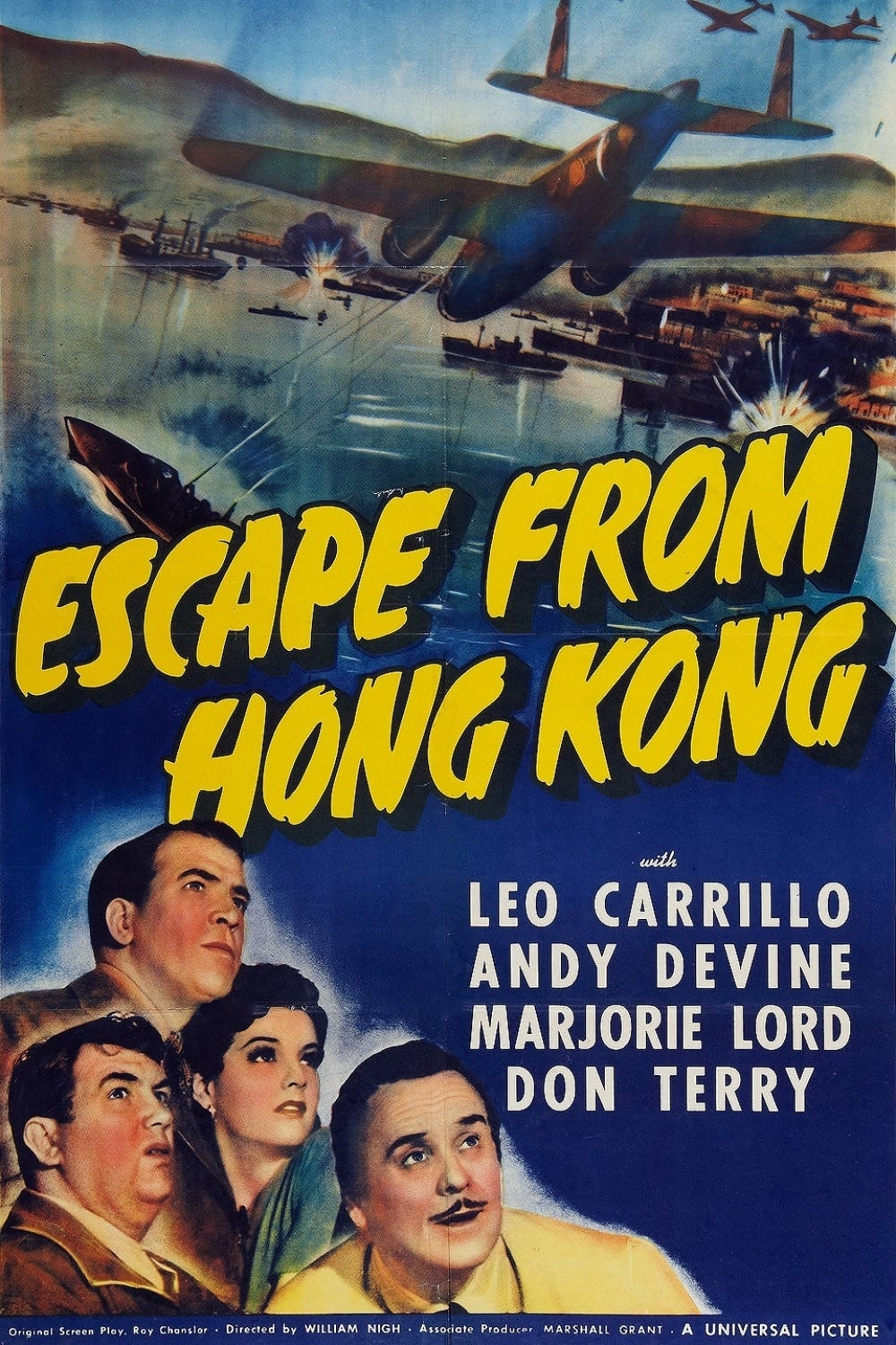 Escape from Hong Kong (1942) - Posters — The Movie ...