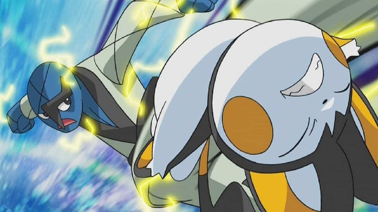 Pokémon Season 14 :Episode 41  The Club Battle Hearts of Fury: Emolga Versus Sawk!