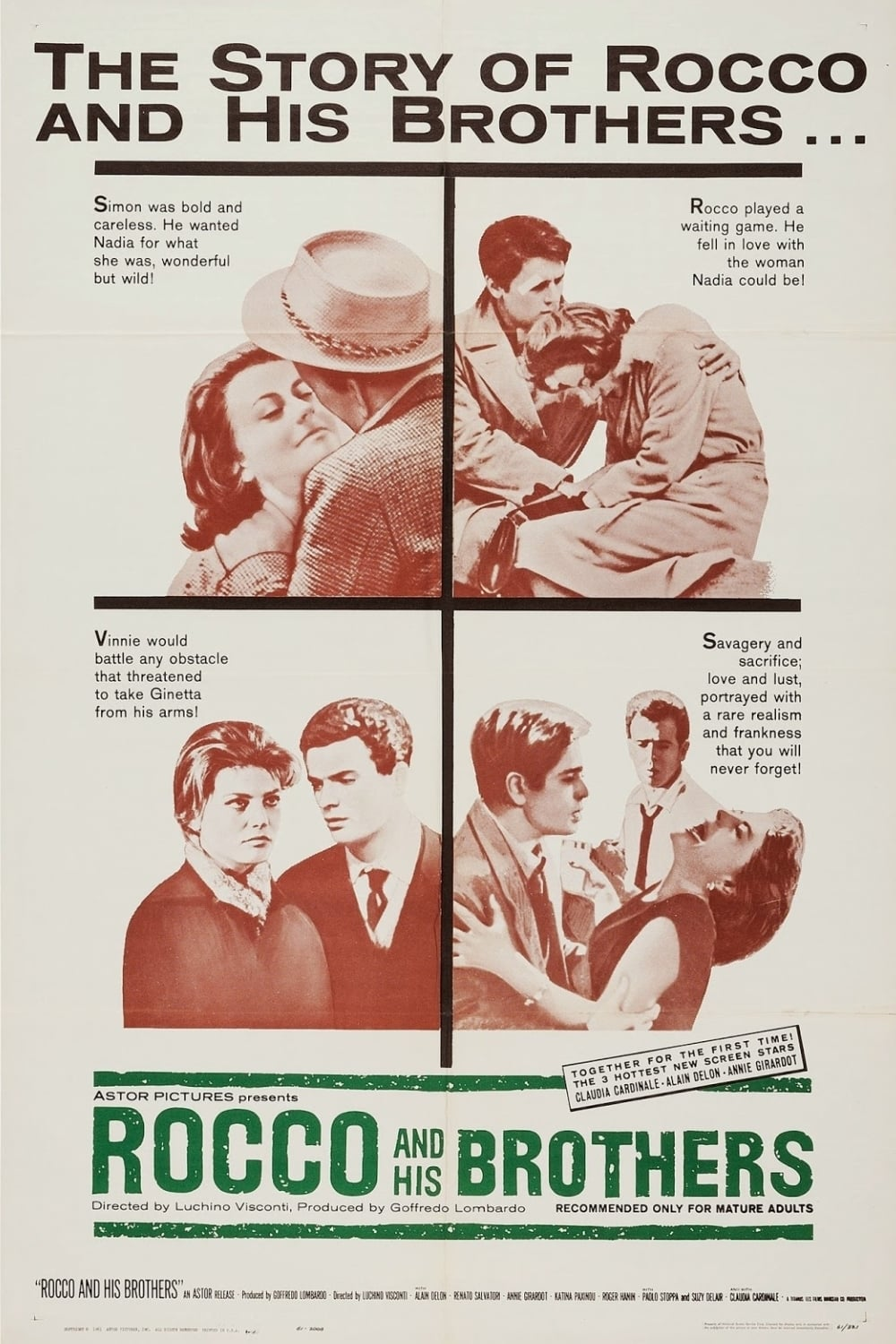 rocco and his brothers 1960 posters � the movie
