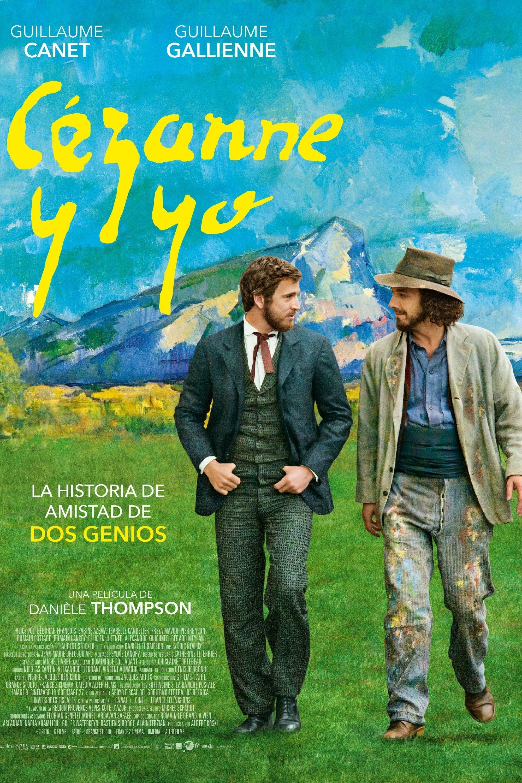Póster C�zanne y yo