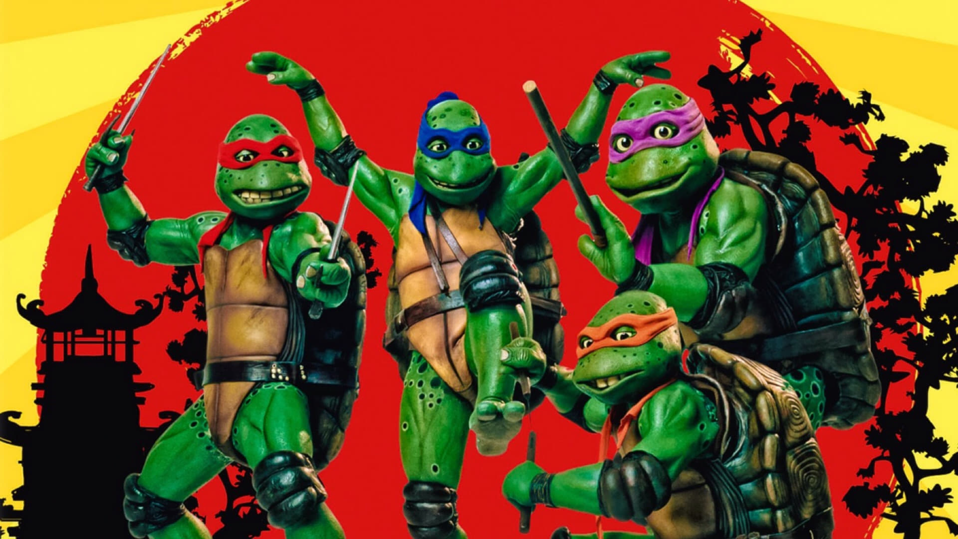 Las Tortugas Ninja III: Viaje al pasado