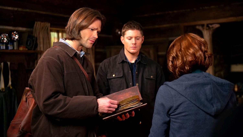 Supernatural Season 10 :Episode 18  Book of the Damned