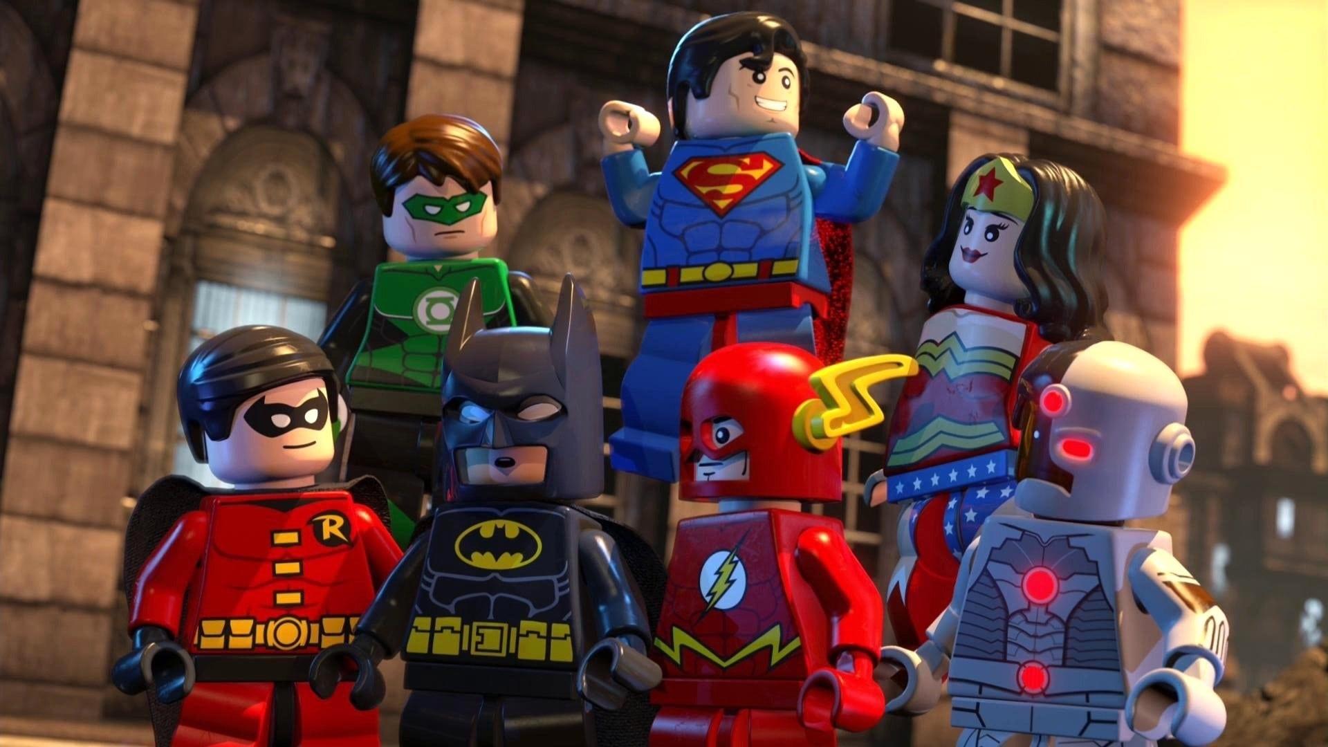 Lego Batman: La película – Superhéroes DC unidos