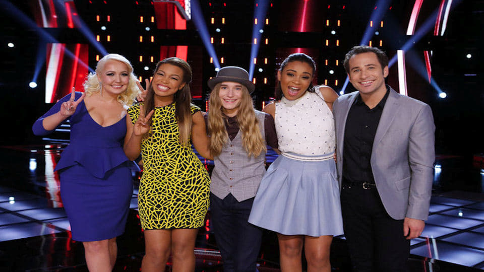 The Voice Season 8 :Episode 24  Live Top 6 Eliminations