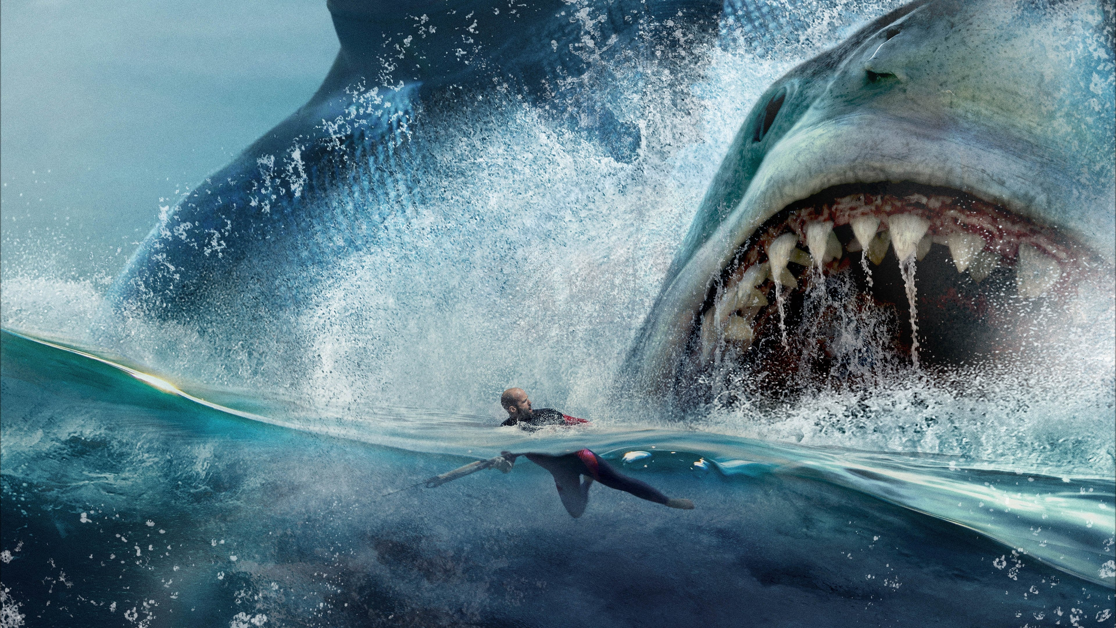 megalodon shark movie - HD 3840×2160