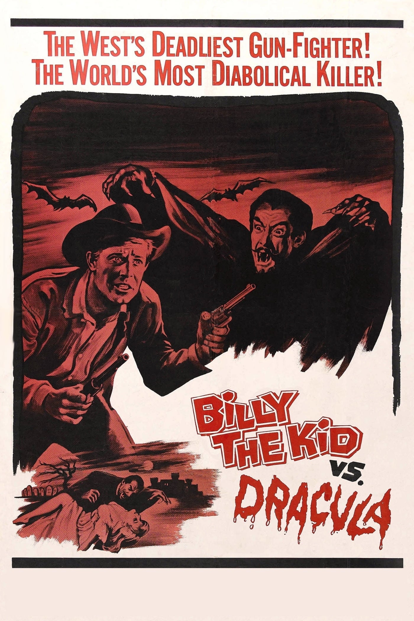 Billy the Kid Versus Dracula on FREECABLE TV