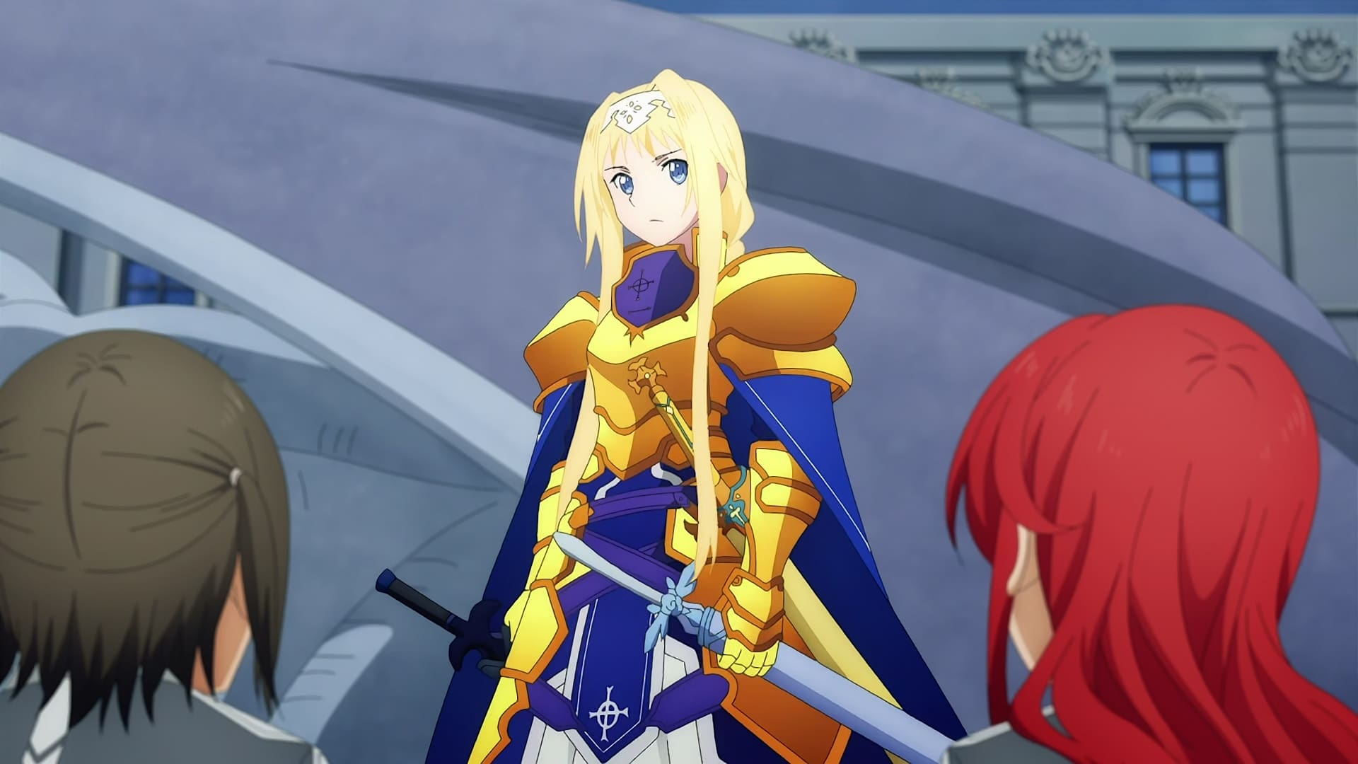 Sword Art Online Season 3 :Episode 11  Central Cathedral