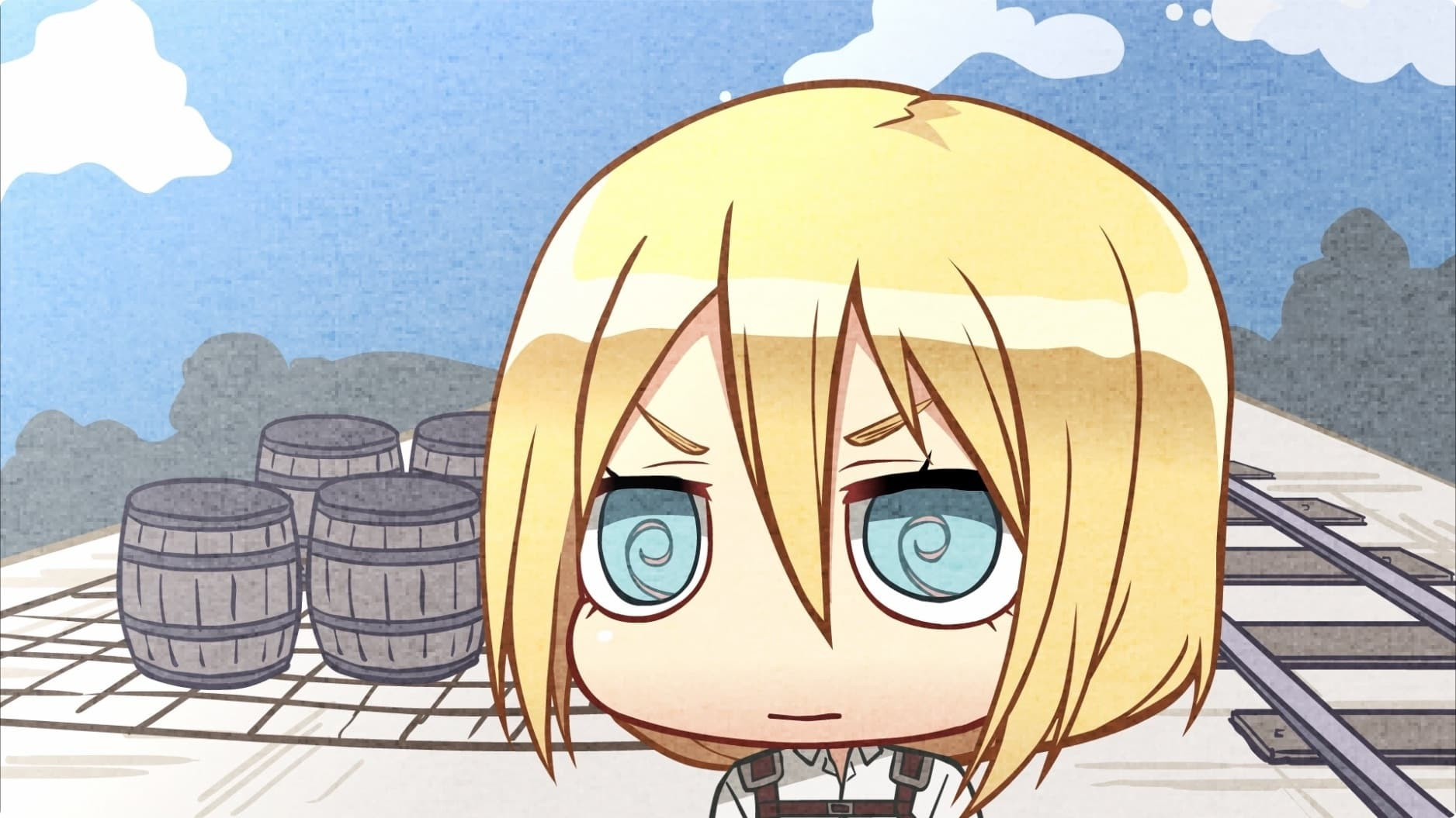 Attack on Titan Season 0 :Episode 22  Chibi Theater: Fly, New Levi Squad, Fly!: Day 47 / Day 48 / Day 49