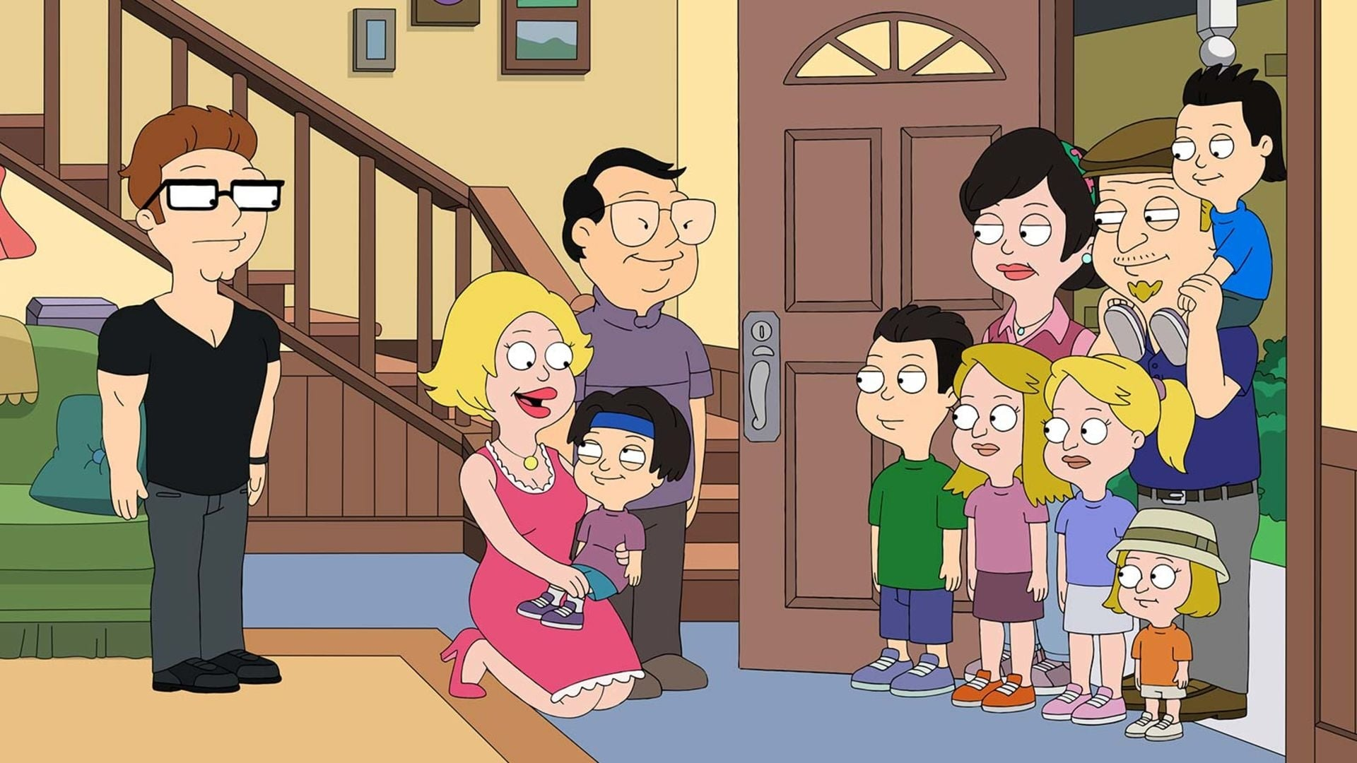 American Dad! Season 16 :Episode 18  No Weddings and a Funeral