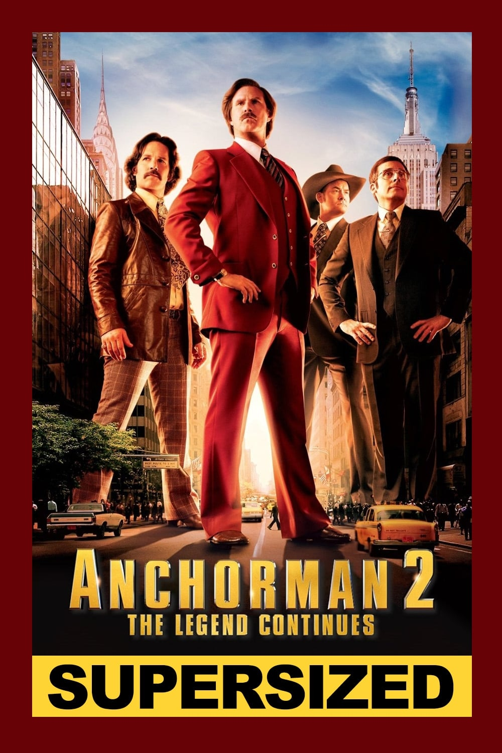 Anchorman 2 The Legend Continues 2013 Posters The Movie Database Tmdb