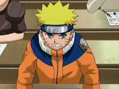 Naruto Season 1 :Episode 25  The Tenth Question: All or Nothing