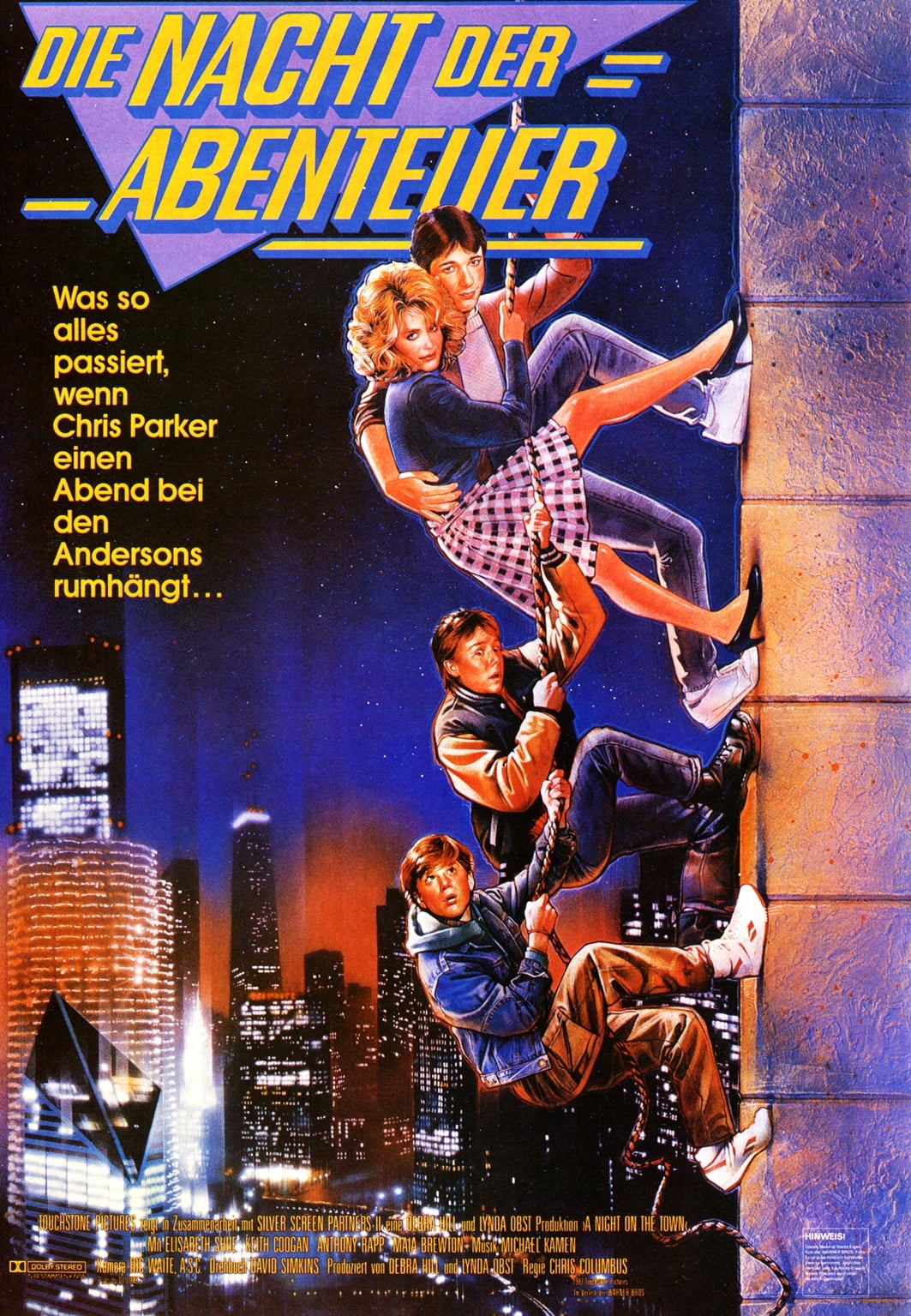Adventures In Babysitting 1987 Posters The Movie